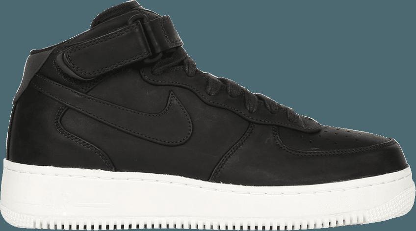 Nike Air Force 1 Mid Black Sail