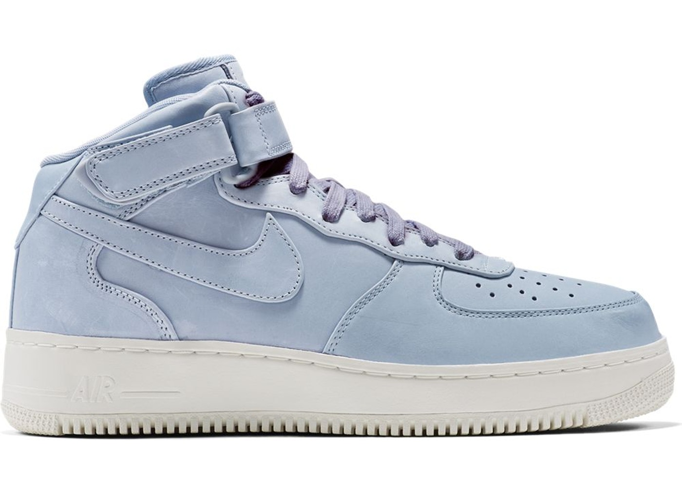 Air Force 1 Mid Blue Grey