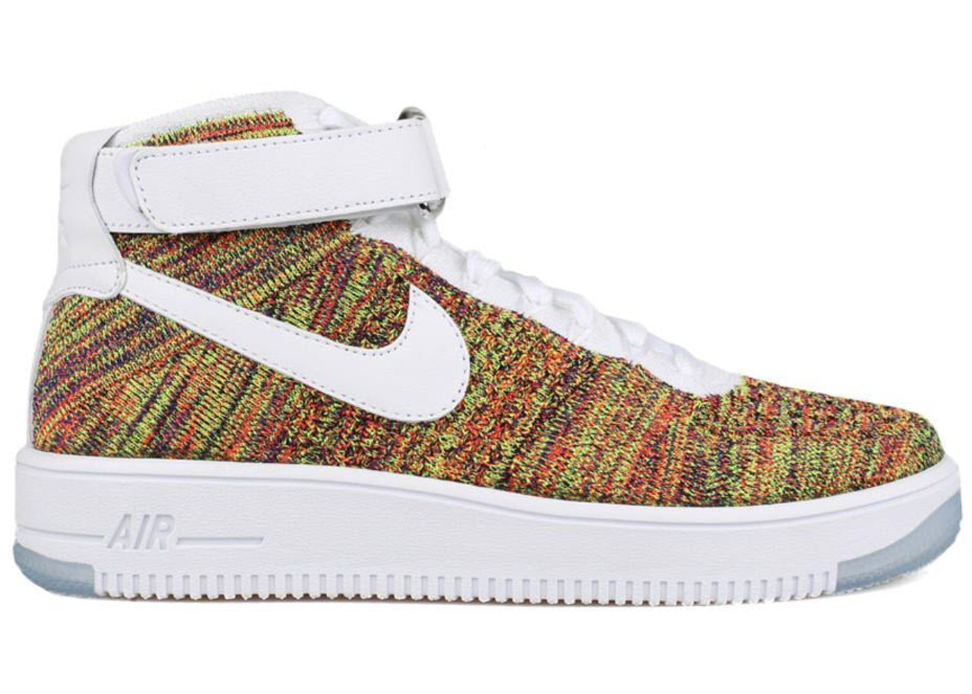 online retailer 2b76b b4a80 Sell. or Ask. Size  10.5. View All Bids. Air Force 1 Mid Flyknit Multi-Color  White