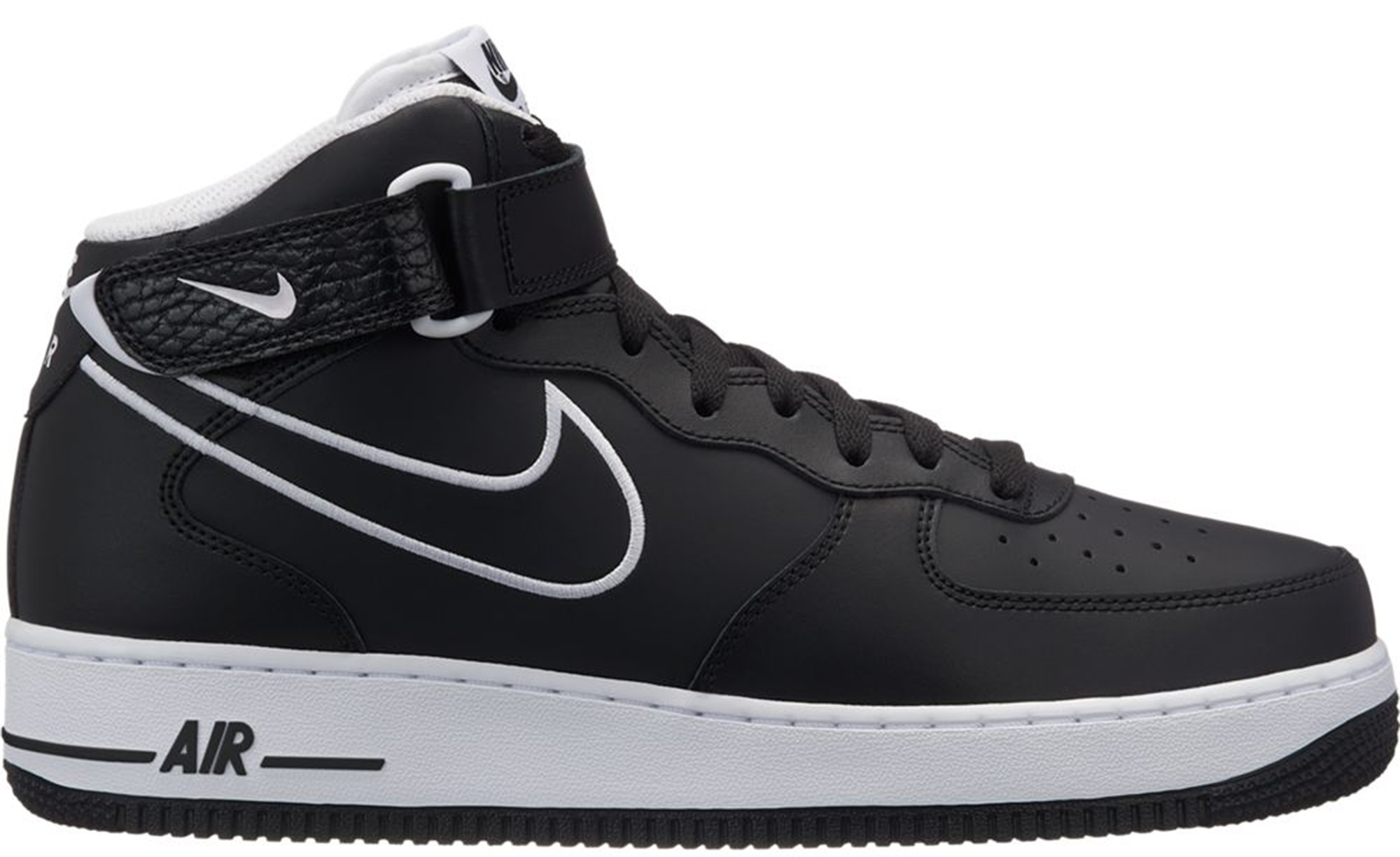 Nike Air Force 1 Mid Leather Black