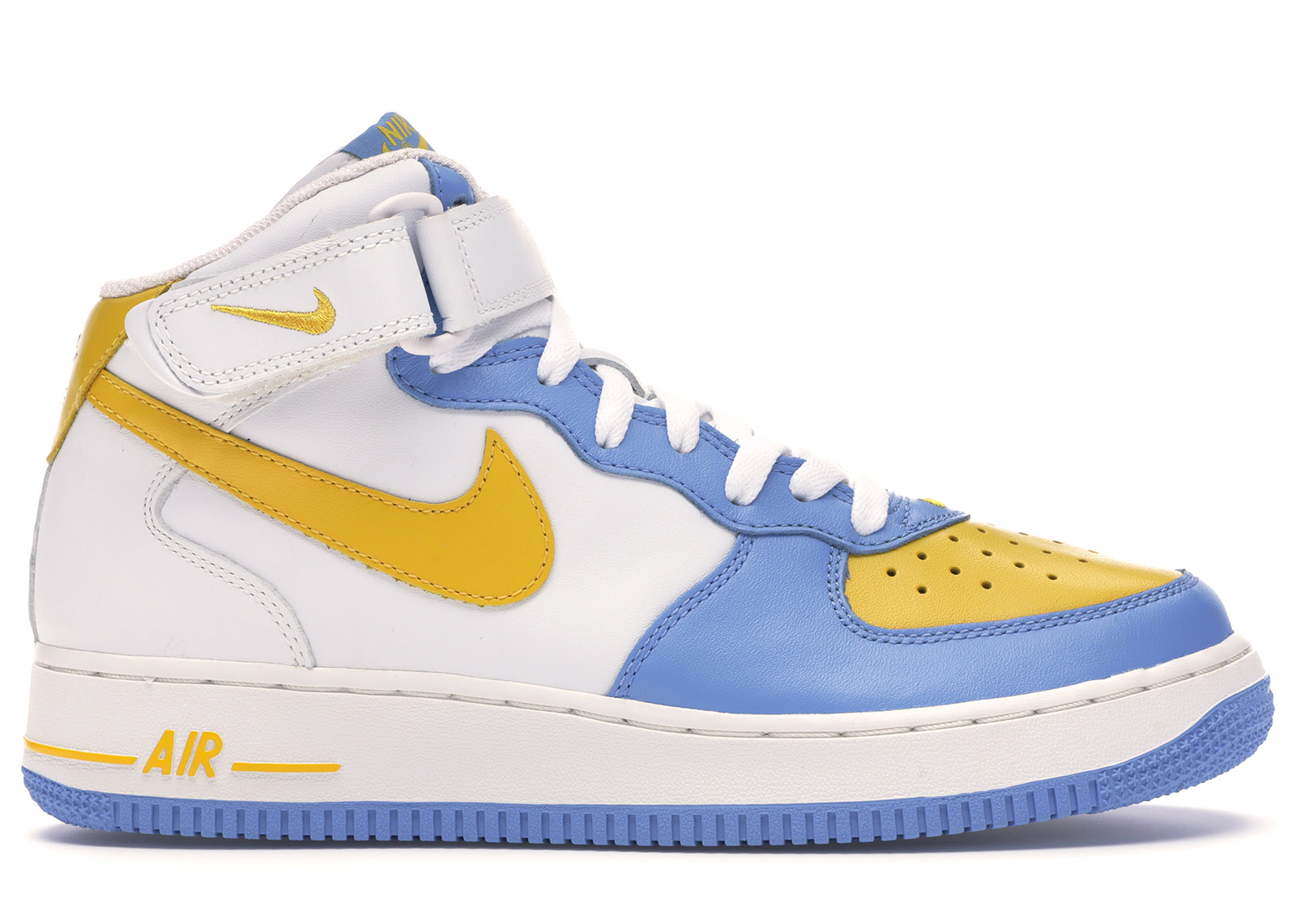 Nike Air Force 1 Mid Legend Blue Maize