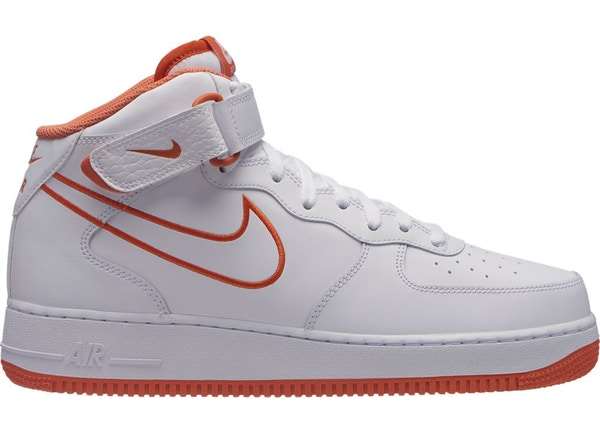 nike air force 1 blanc orange