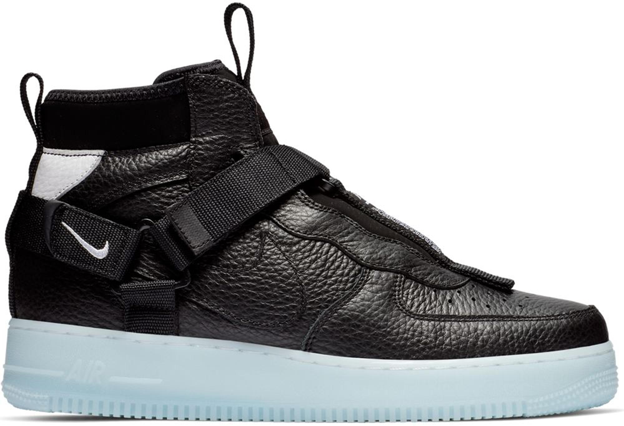 Nike Air Force 1 Mid Utility Black Half