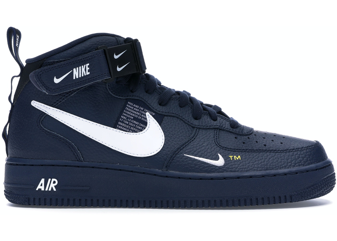 Air Force 1 Mid Utility Obsidian - 804609-403 e3f97e18e