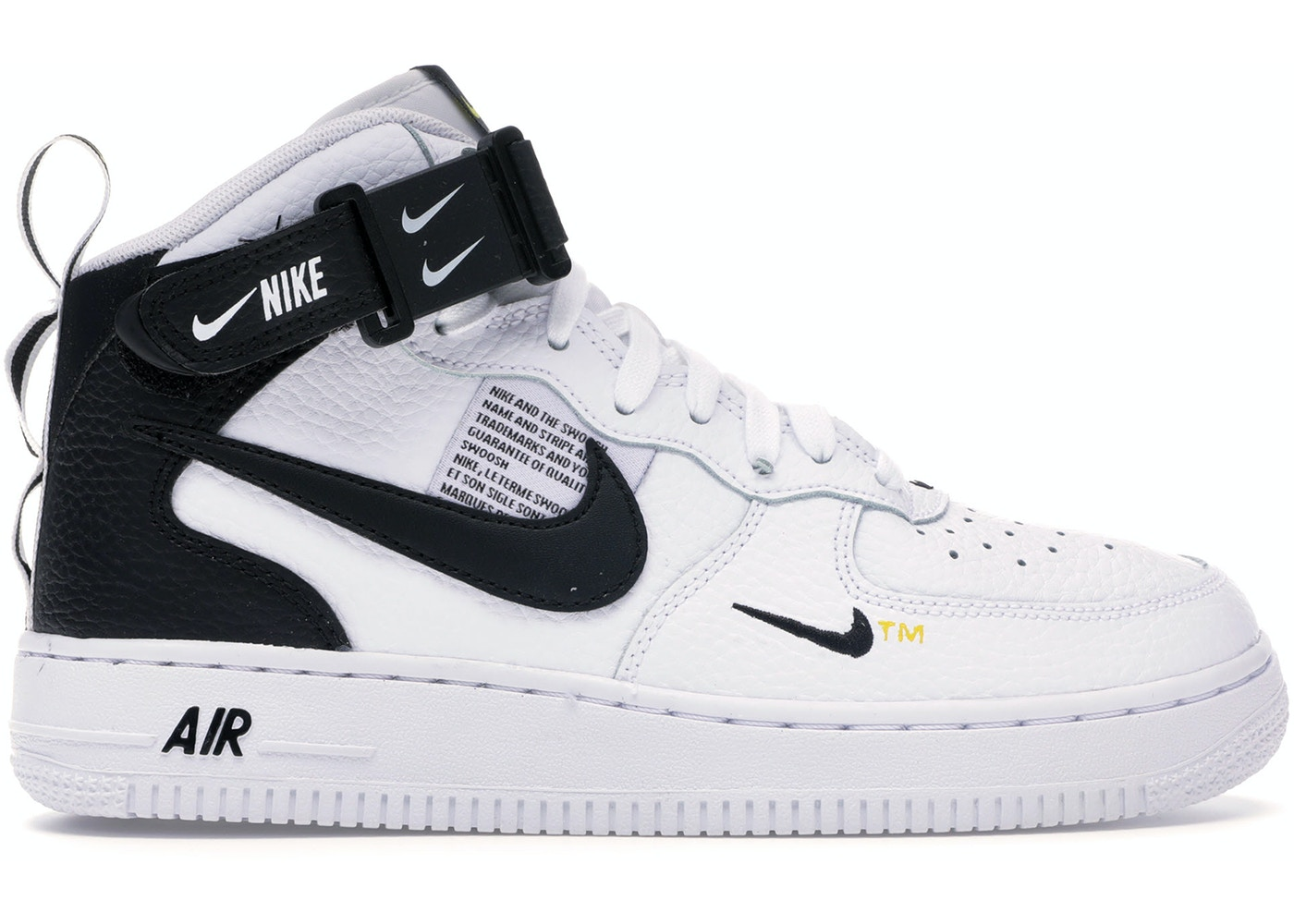 low priced 26c4c af965 Air Force 1 Mid Utility White Black (GS)