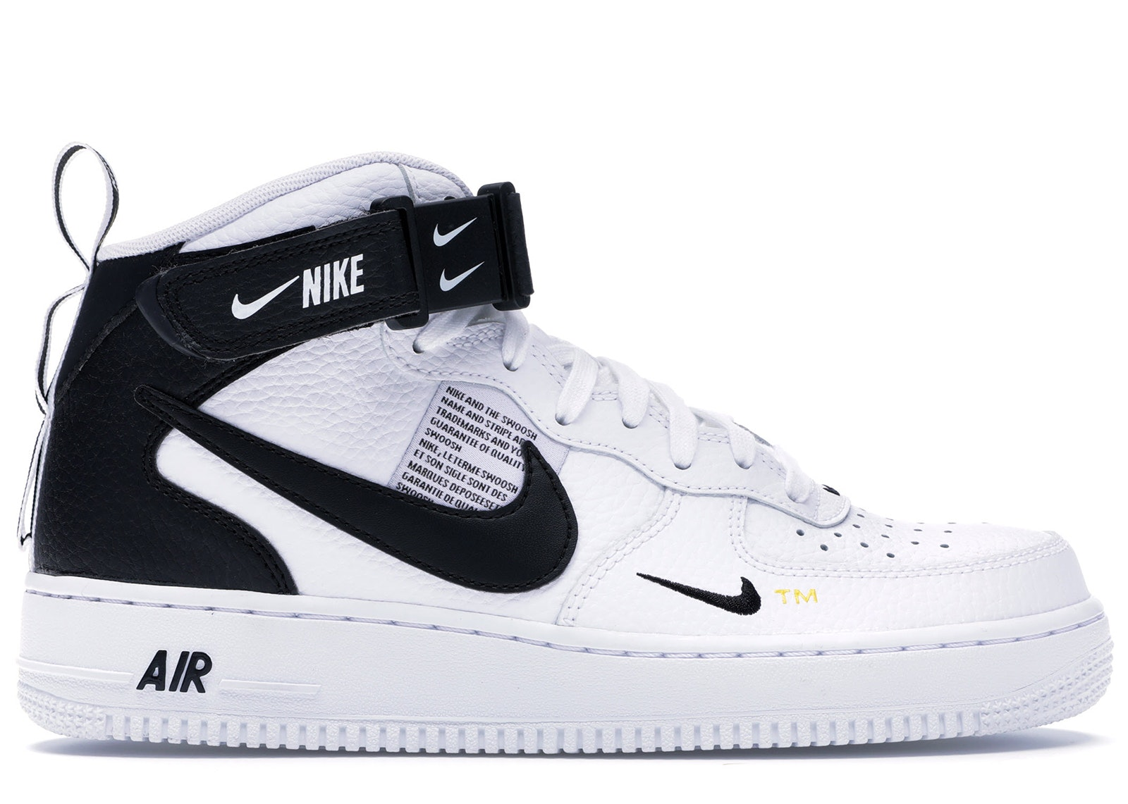 Air Force 1 Mid Utility White Black