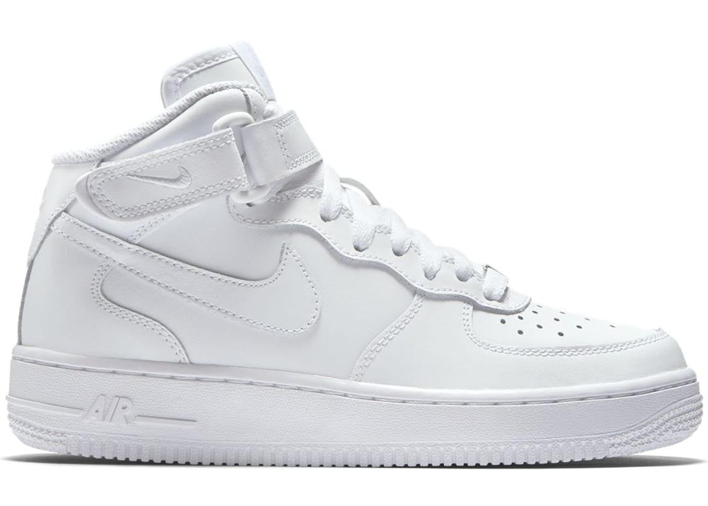 air force 1 mid białe