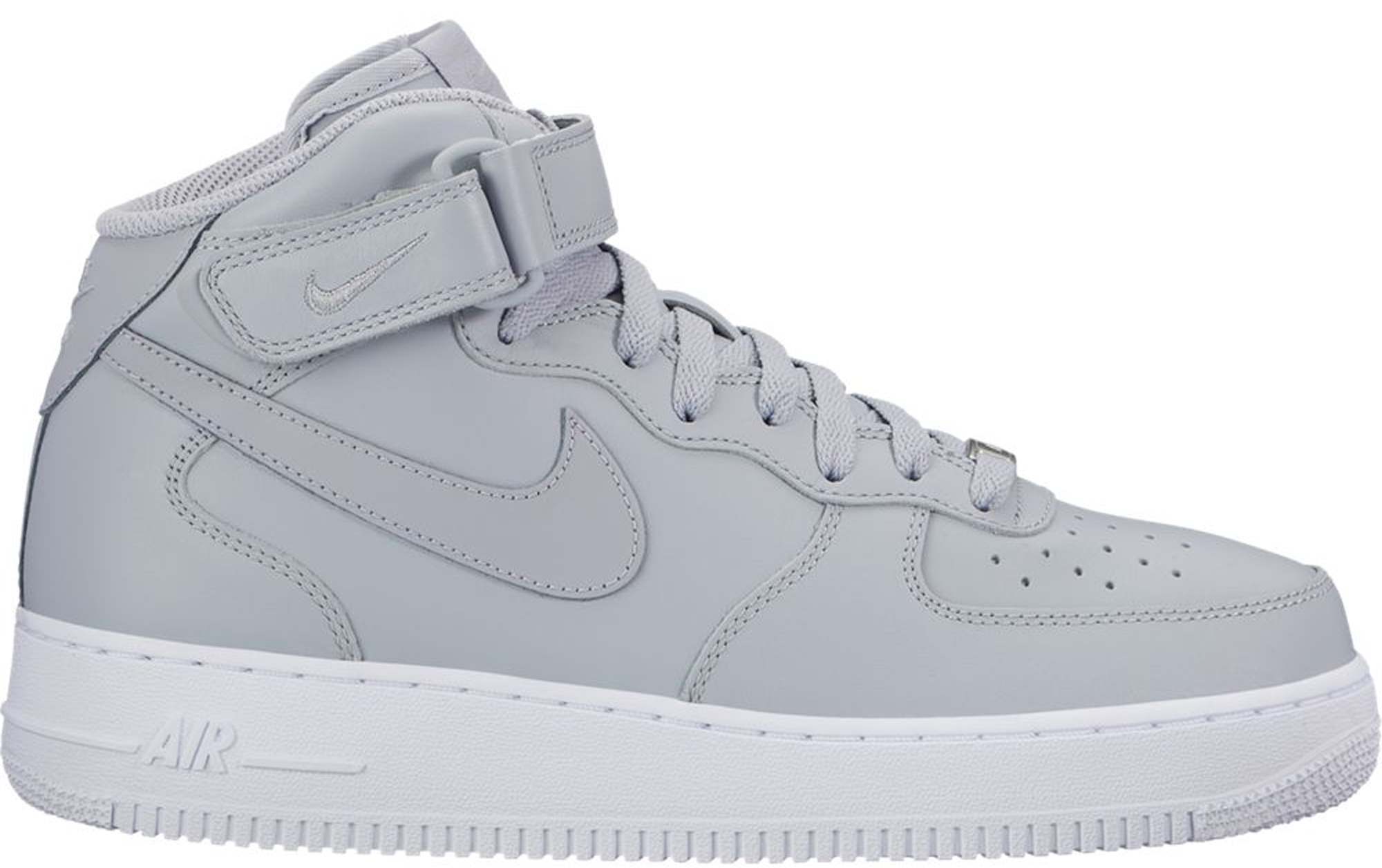 nike air force 1 grey and white