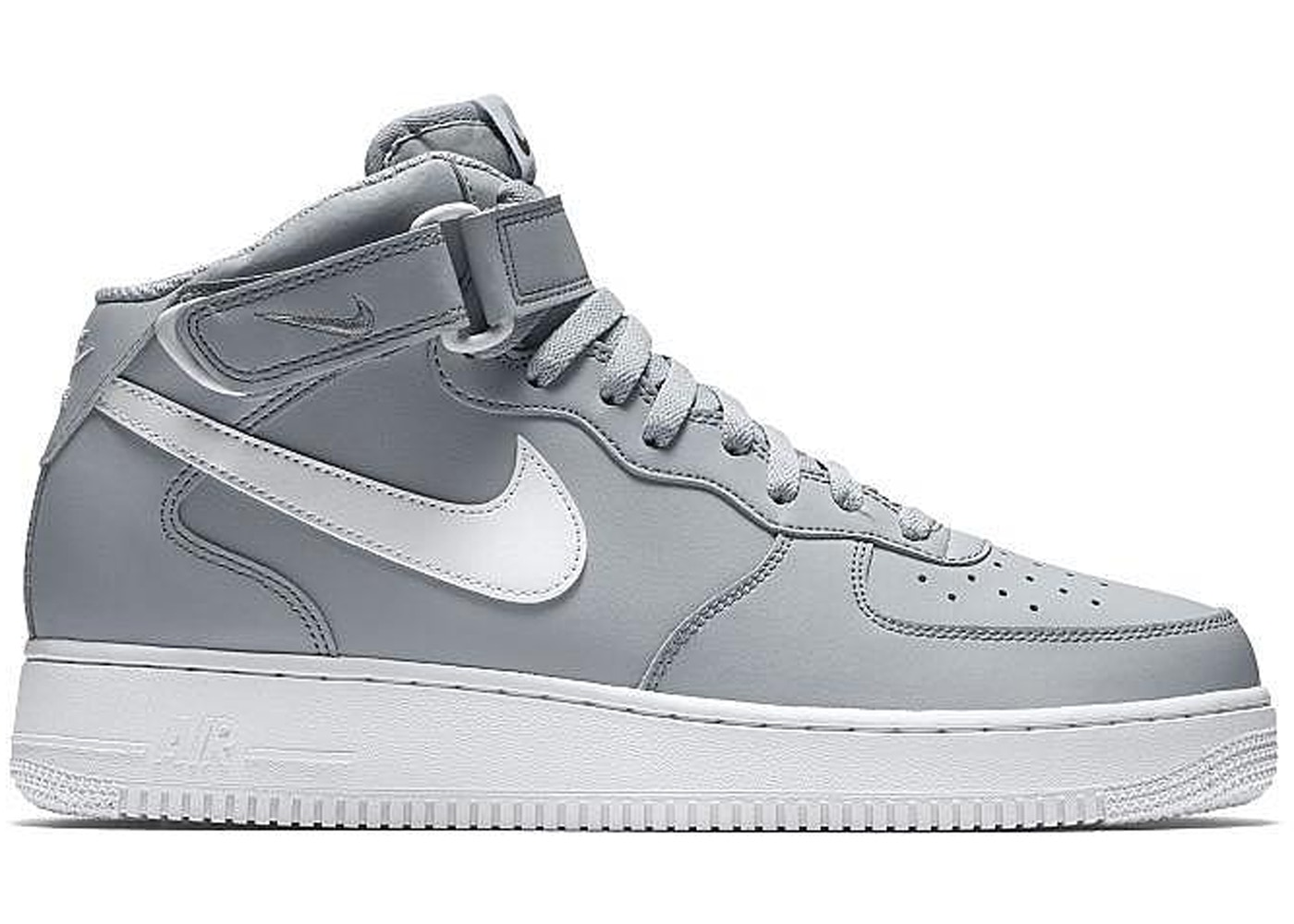 Nike Air Force 1 Mid Wolf Grey White