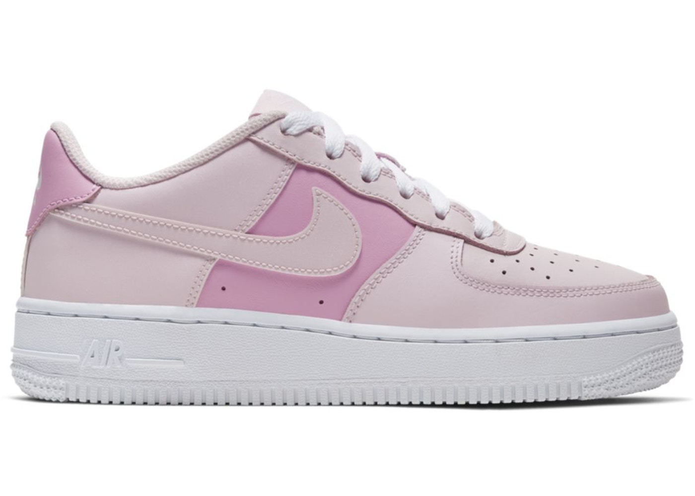 Peep The Floral Print On This Pink Nike Air Force 1