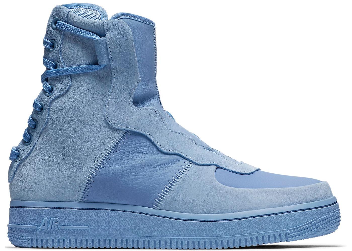 wholesale dealer ed7d4 9ec57 Air Force 1 Rebel XX Light Blue (W)