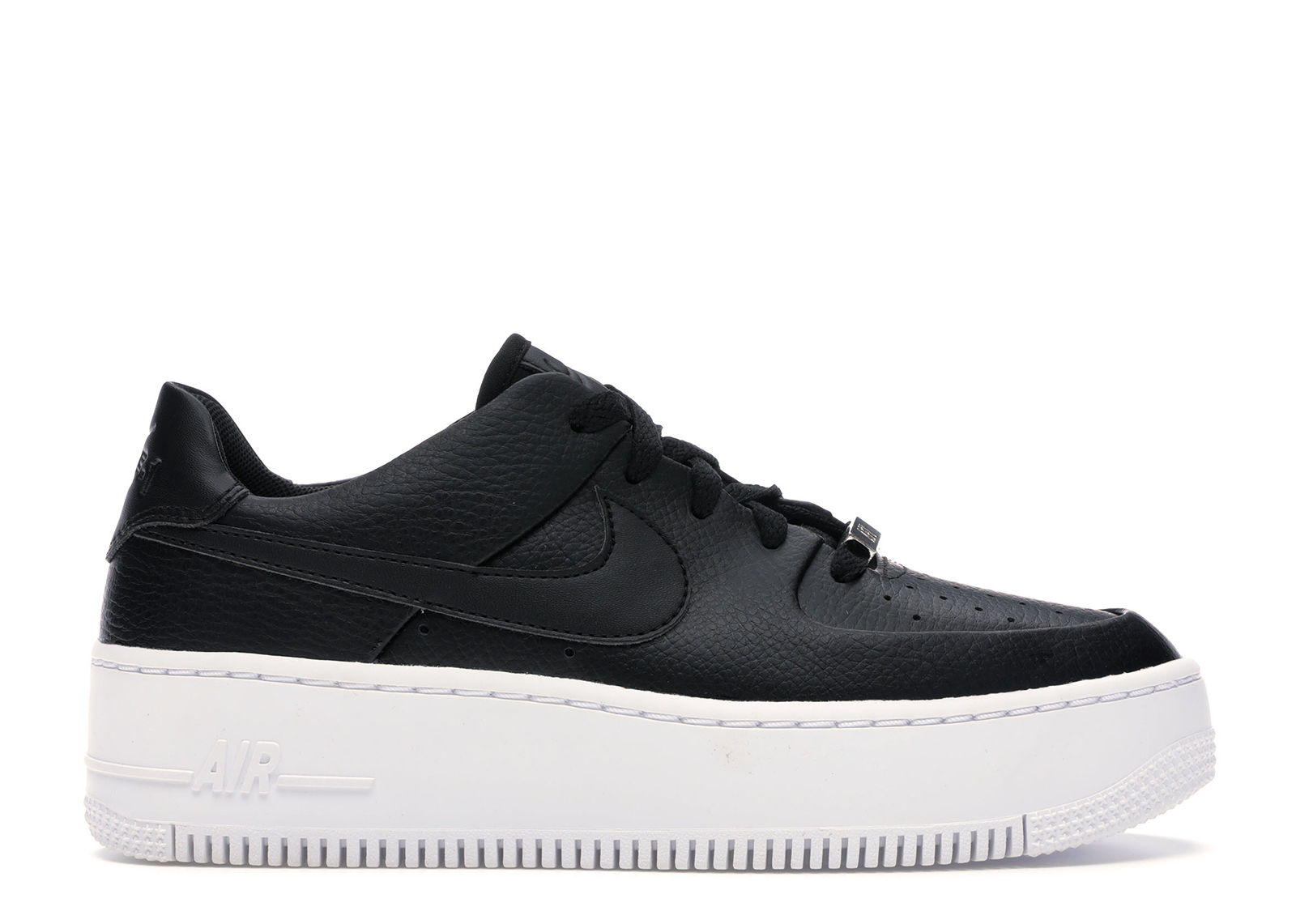 nike air force 1 sage low nero