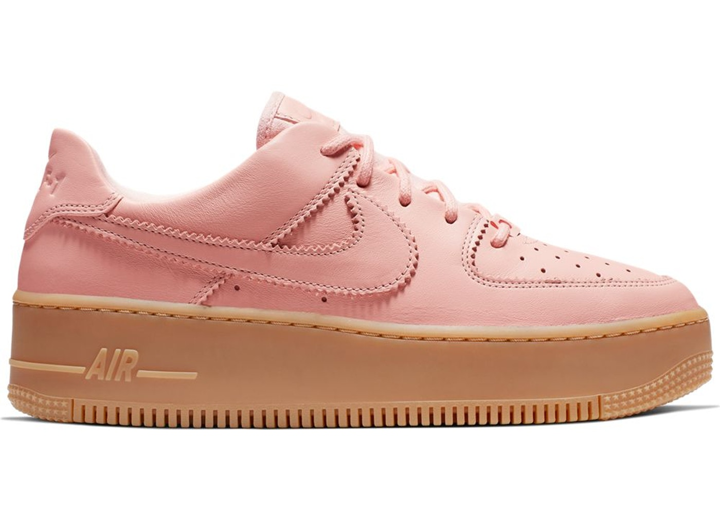 Air Force 1 Sage Low Lx Washed Coral Gum W Ar5409 600