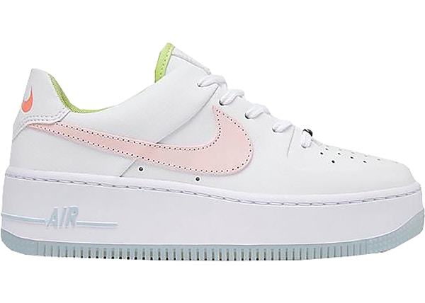 nike air force 1 sage rose
