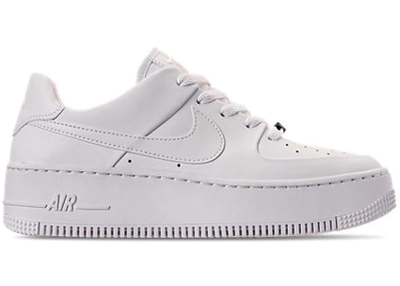 nike air force 1 sage low zwart