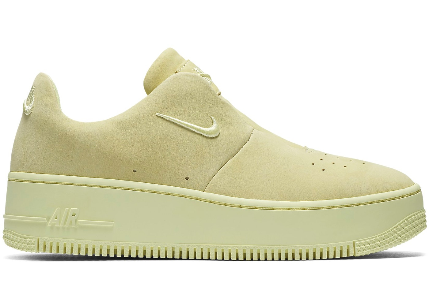 nike air force 1 sage zwart