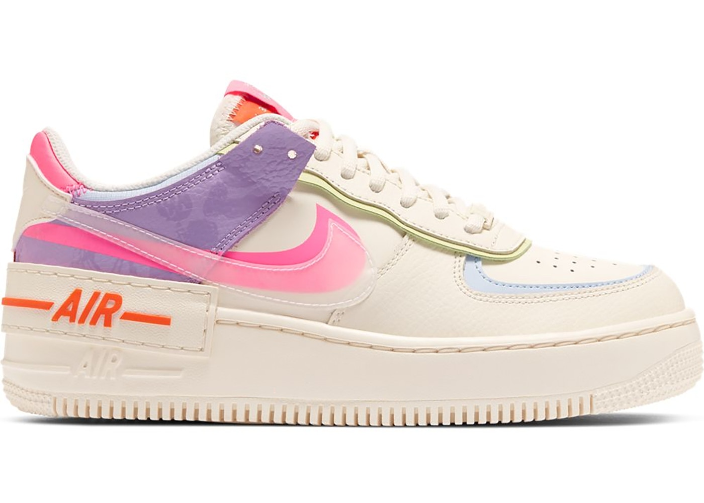 nike air force 1 shadow pale ivory w