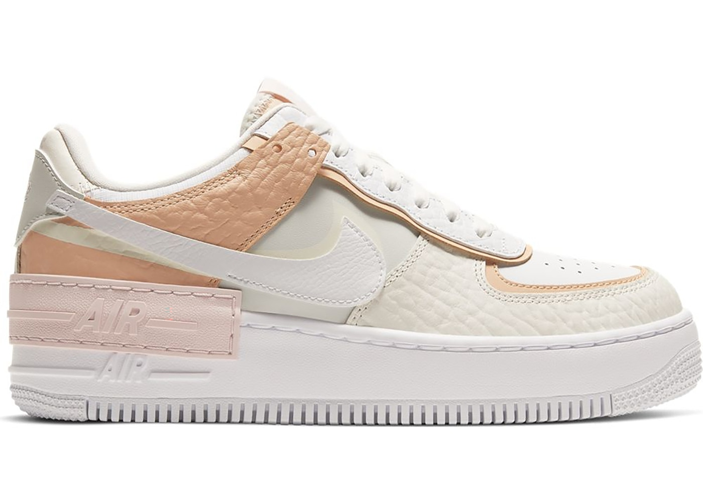 air force 1 shadow donna beige