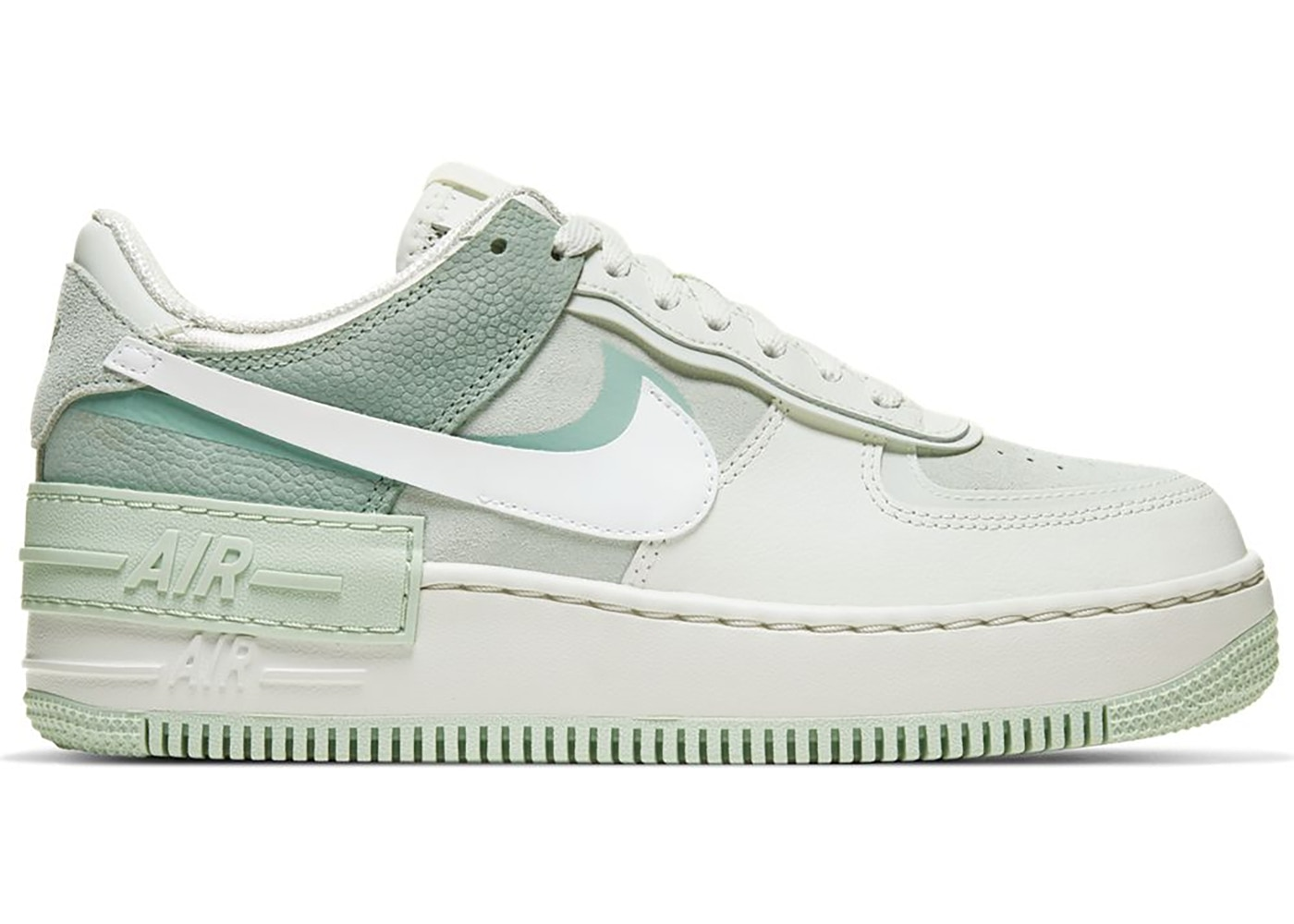 Nike Air Force 1 Shadow Spruce Aura White W Cw2655 001