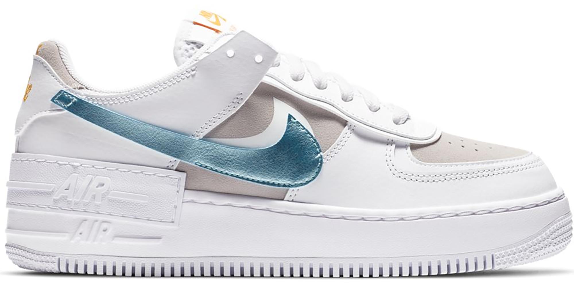 Nike Air Force 1 Shadow White Vast Grey