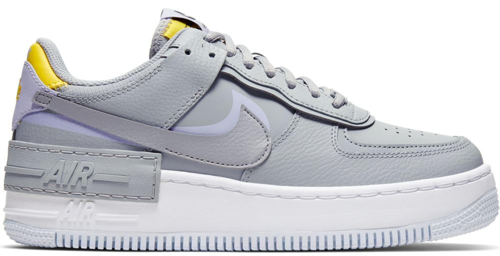 Nike Air Force 1 Shadow Wolf Grey Lavender Mist (W) - CI0919-002