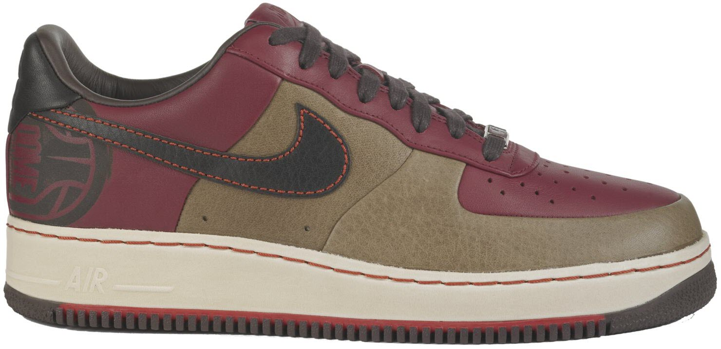Nike Air Force 1 Low The Dome Baltimore Sneakers (Team Red/Boulder-Pinenut)