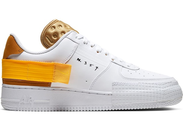 Air Force 1 Type White Gold