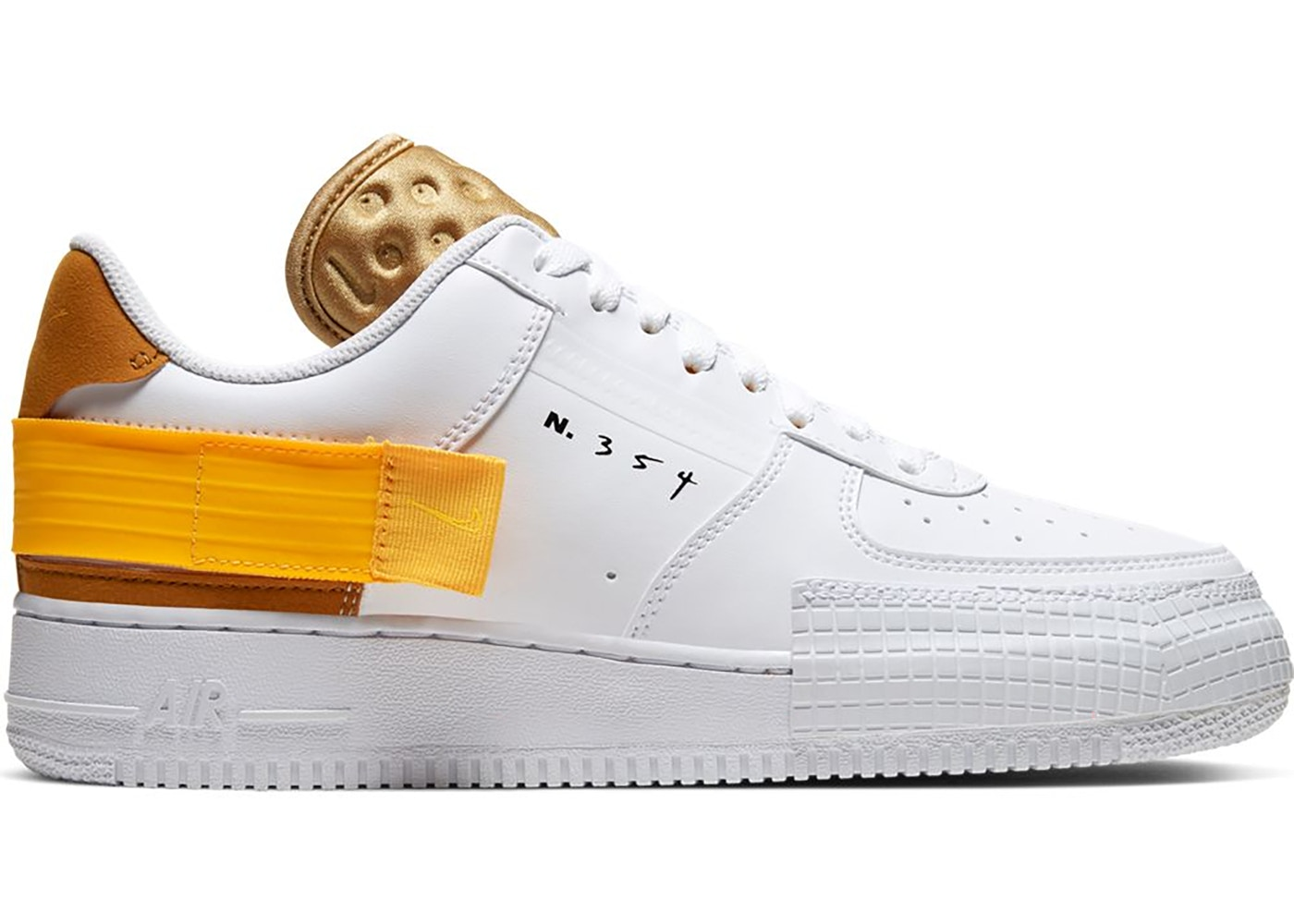 air force 1 type white