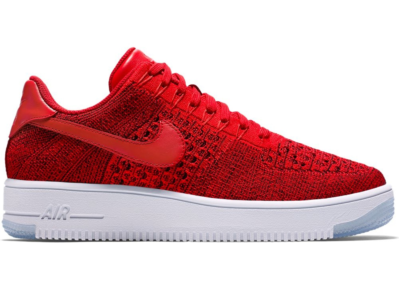 Nike Air Force 1 Flyknit rosso
