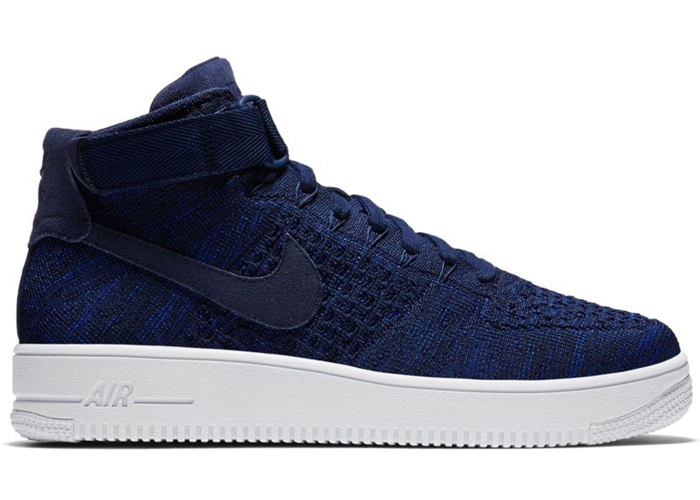 huge selection of bdb4f cbe44 Air Force 1 Ultra Flyknit Mid College Navy