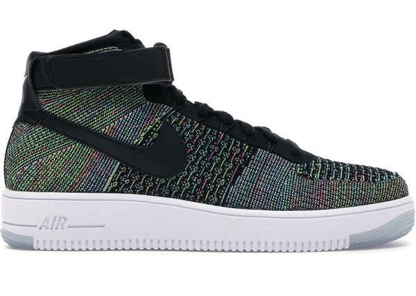 new arrival 21fbb e493d Air Force 1 Ultra Flyknit Mid Multi-Color 2.0