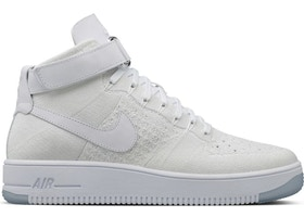 Air Force 1 Ultra Flyknit Mid Triple White