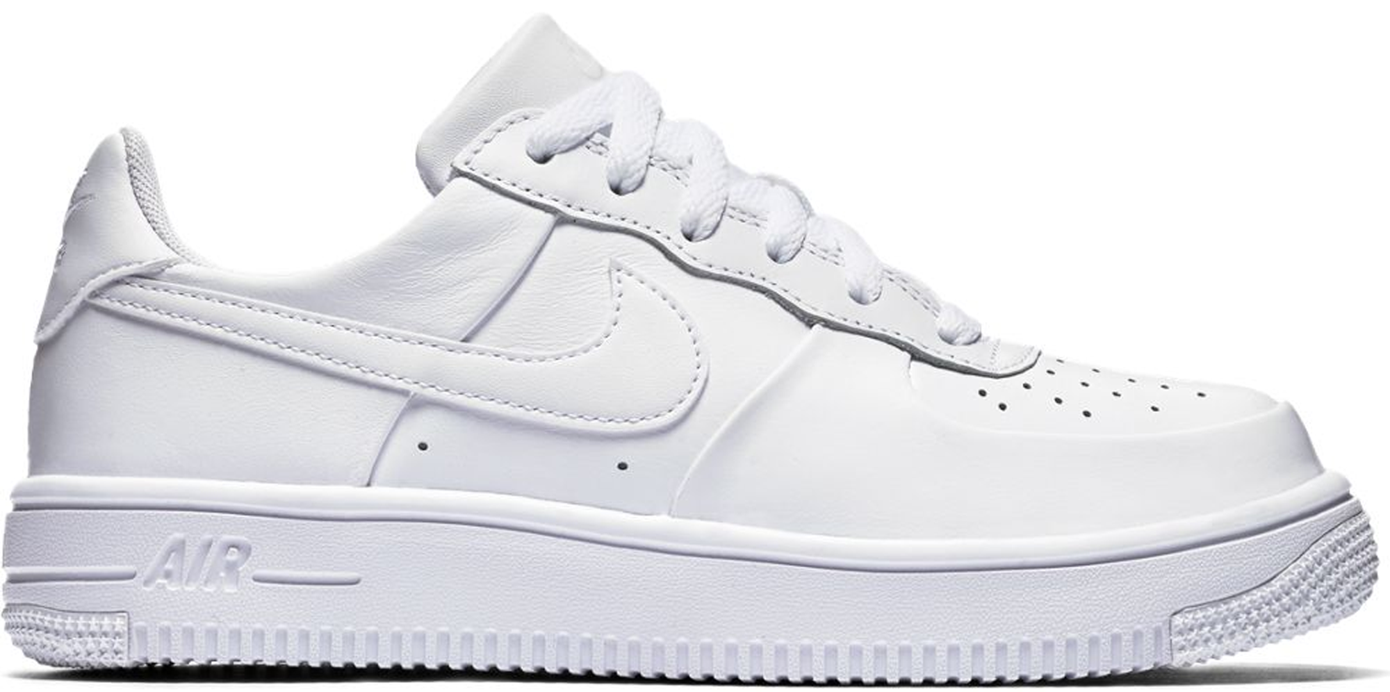 nike air force one low white gs 350
