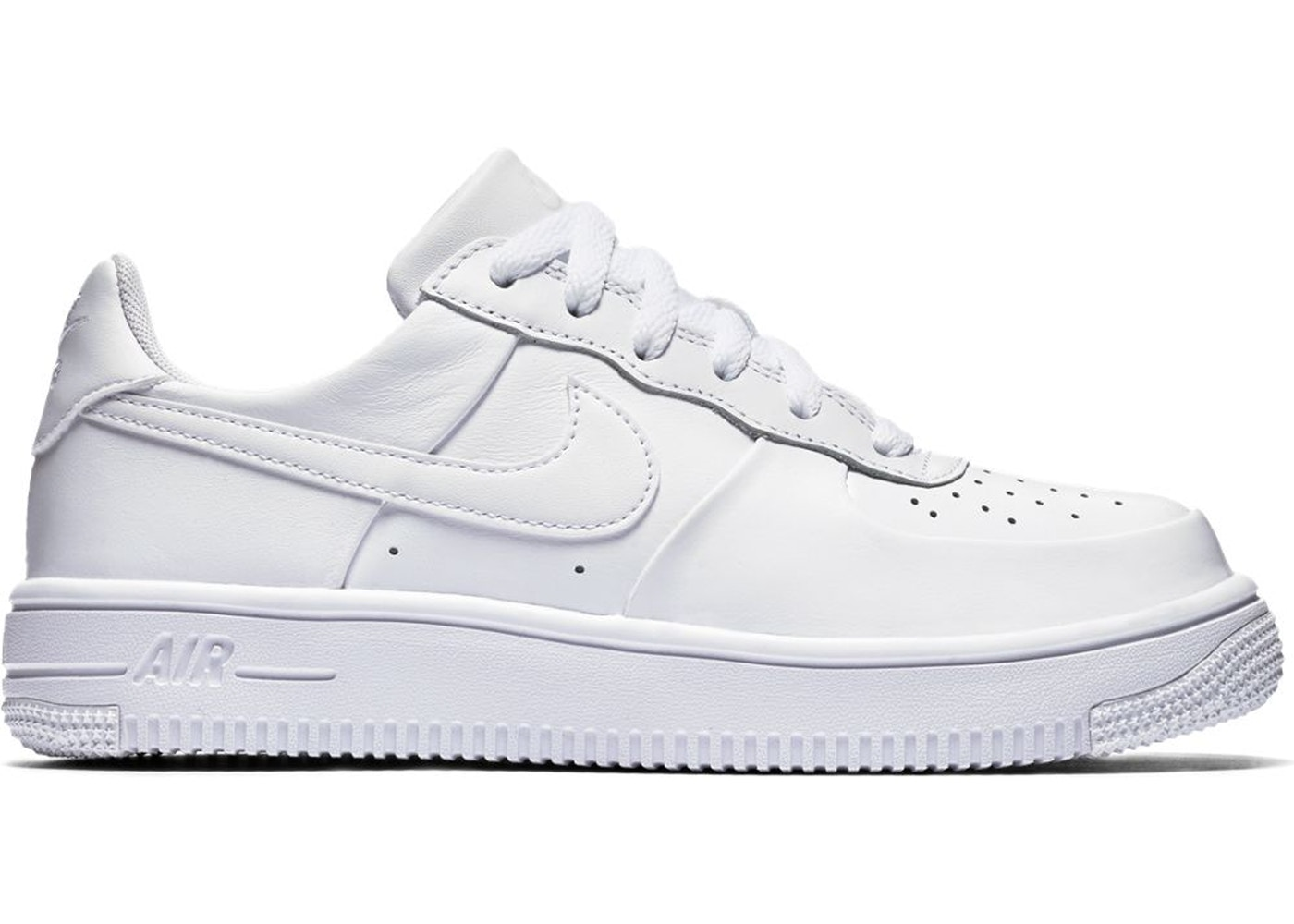 air force 1 ultraforce low triple white