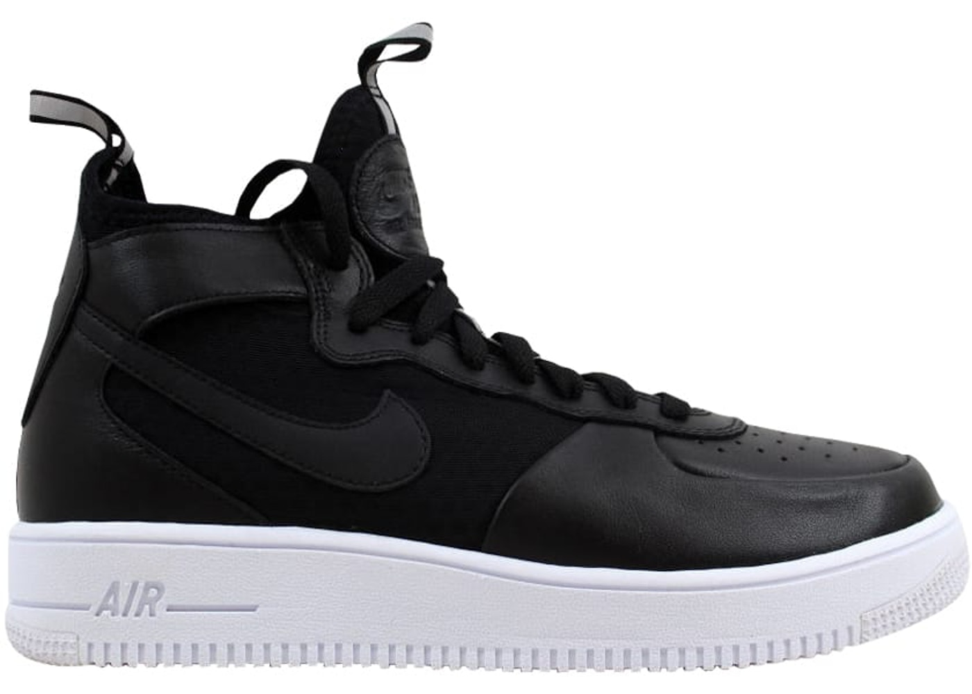 e35092a6b51a Nike Air Force 1 Ultraforce Mid Black Black-White (W) - 864025-001