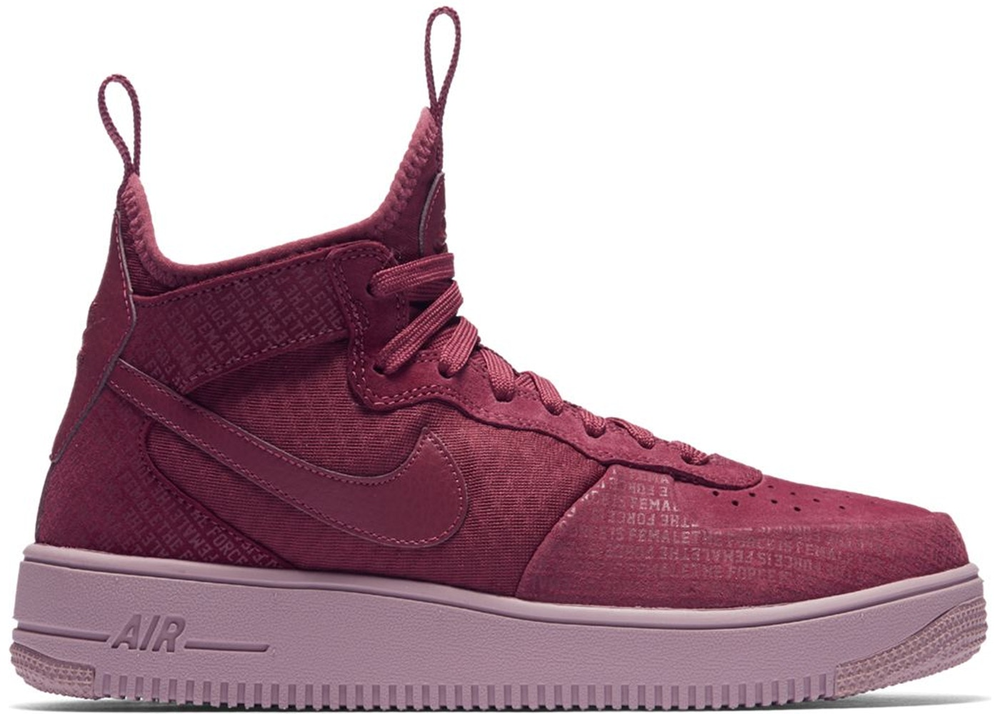 NIKE Air Force 1 Ultraforce Mid Force is Female
