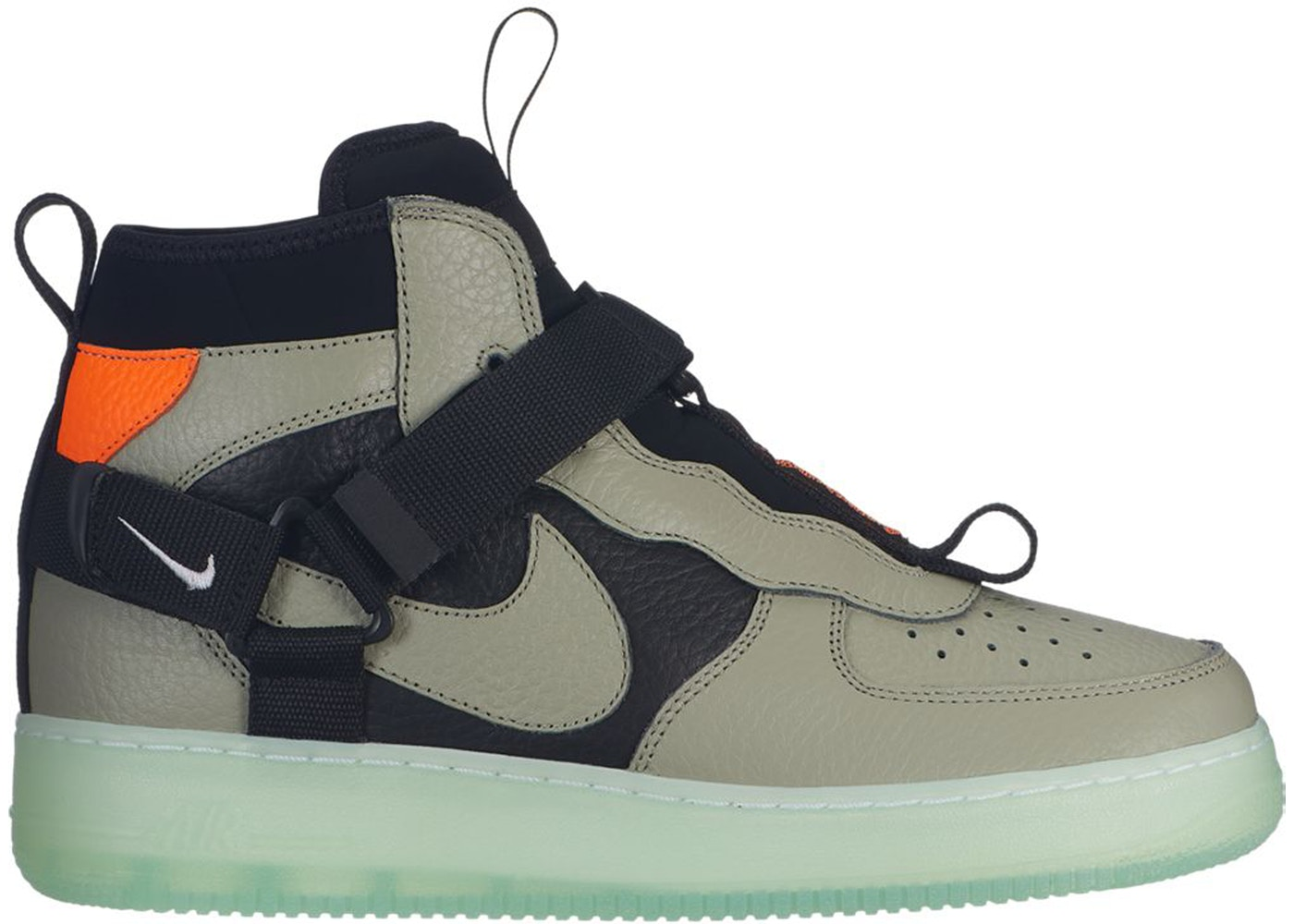 sneakers for cheap e3165 4b16a Air Force 1 Utility Mid Spruce Fog