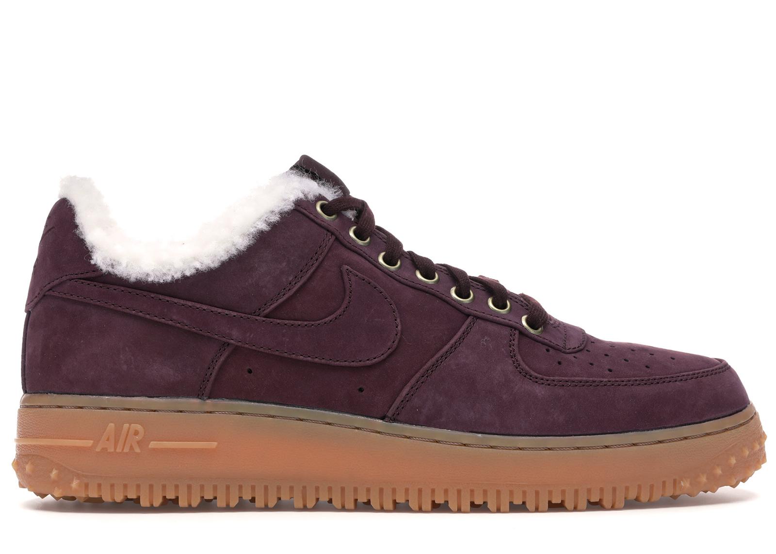 Nike Air Force 1 Winter Burgundy Crush