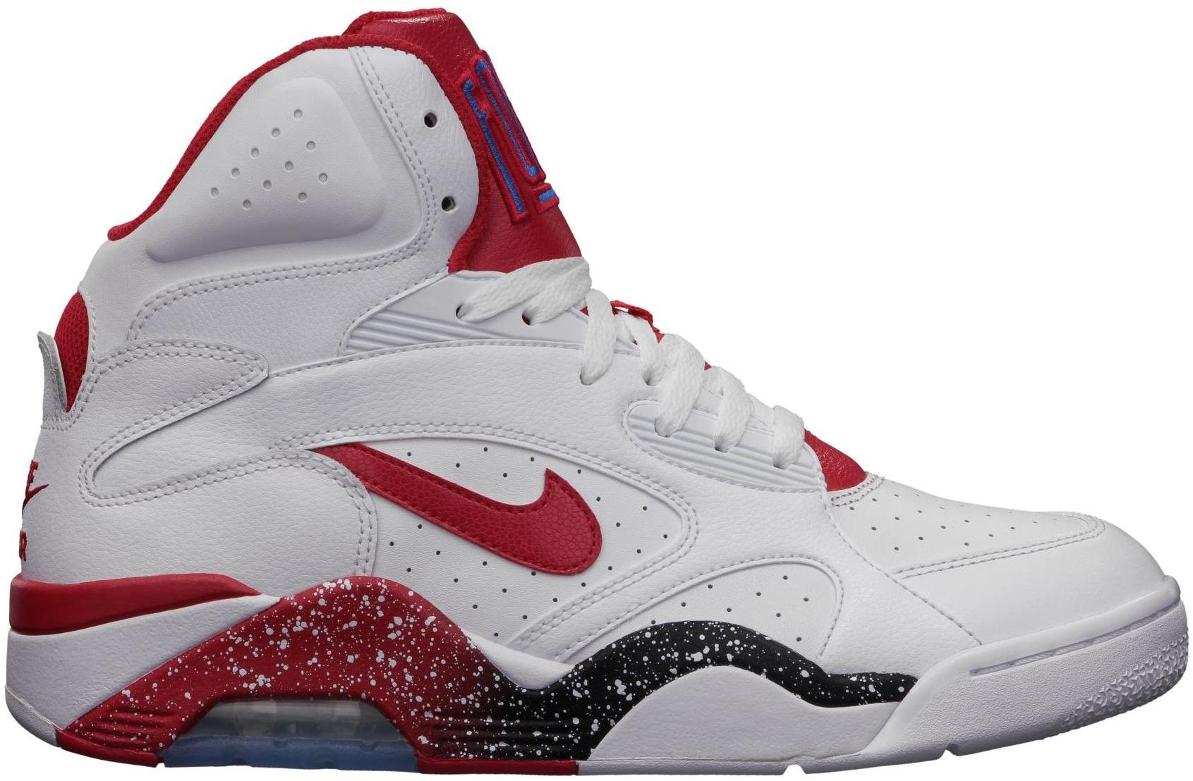 Nike Air Force 180 White Red - 537330-101