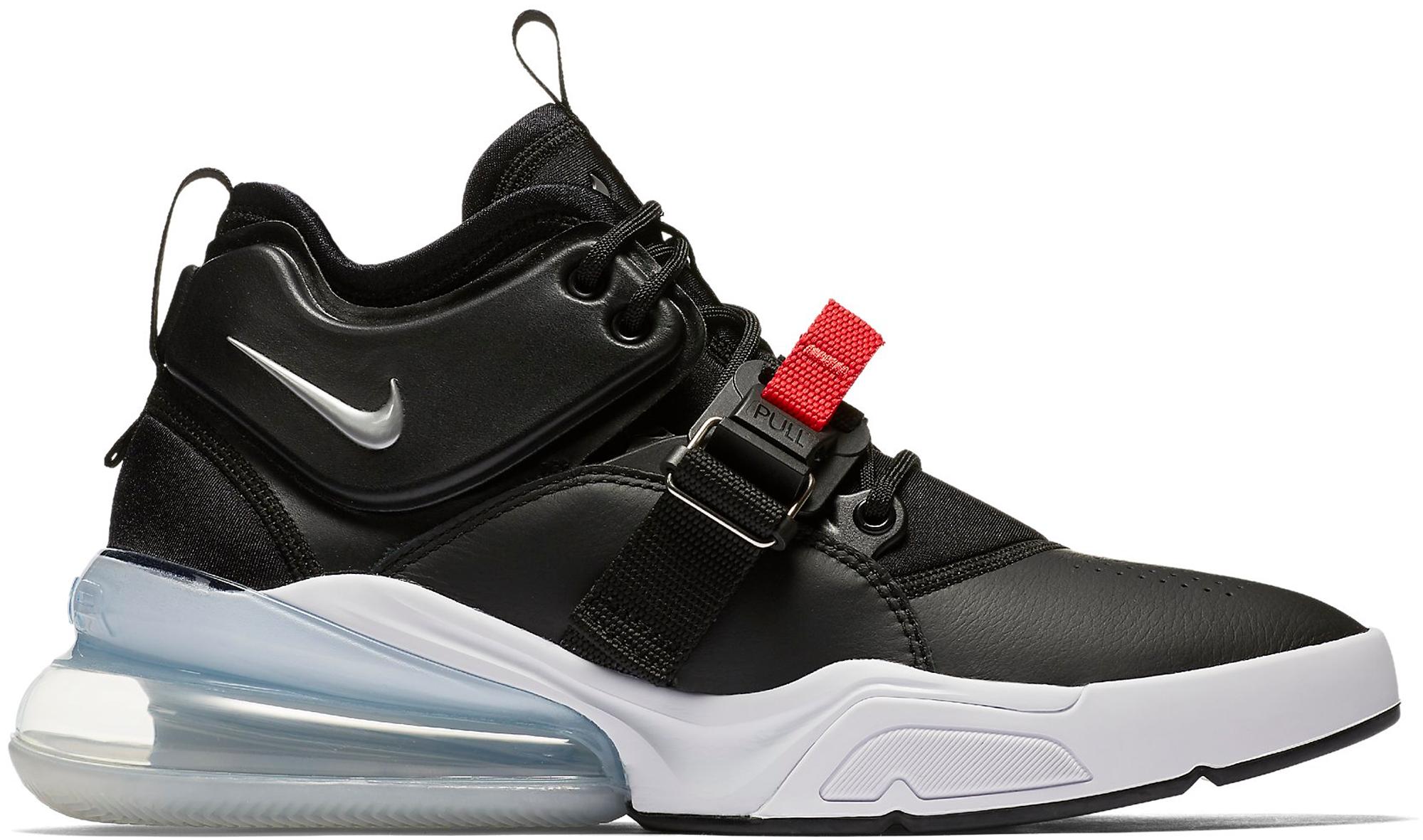 Nike Air Force De 270 Rouge Noir Et Blanc
