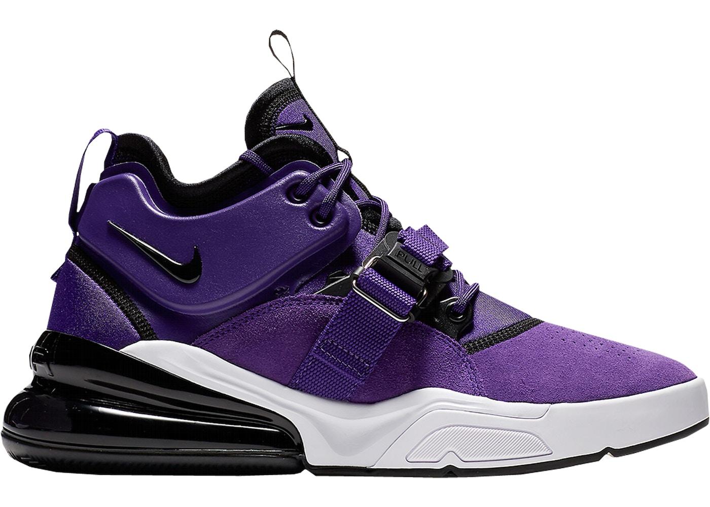 pretty nice cdb89 53a52 Nike Air Force 270 Court Purple - AO1000-500