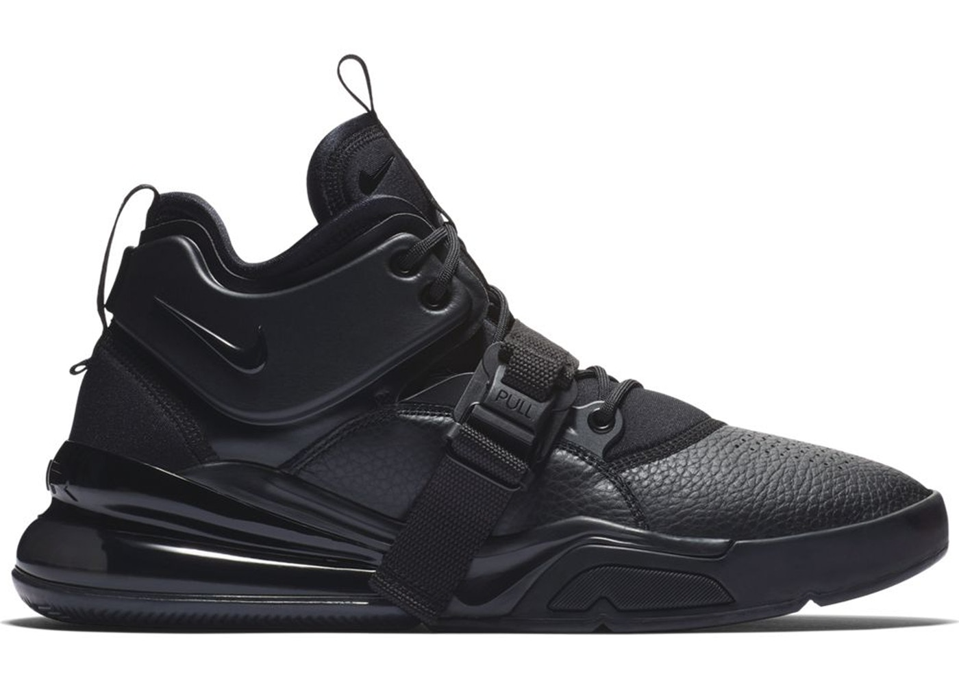 low priced 1690b 729d4 Air Force 270 Triple Black