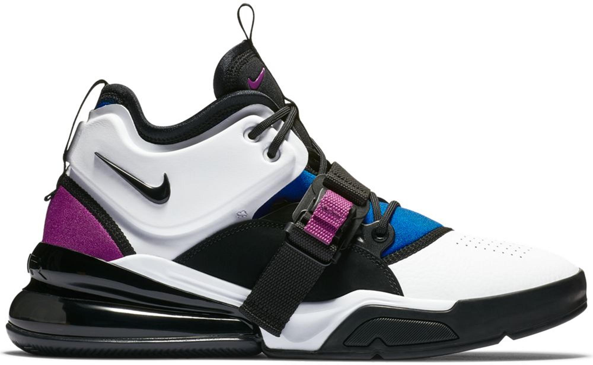 Nike Air Force 270 White Black Lyon