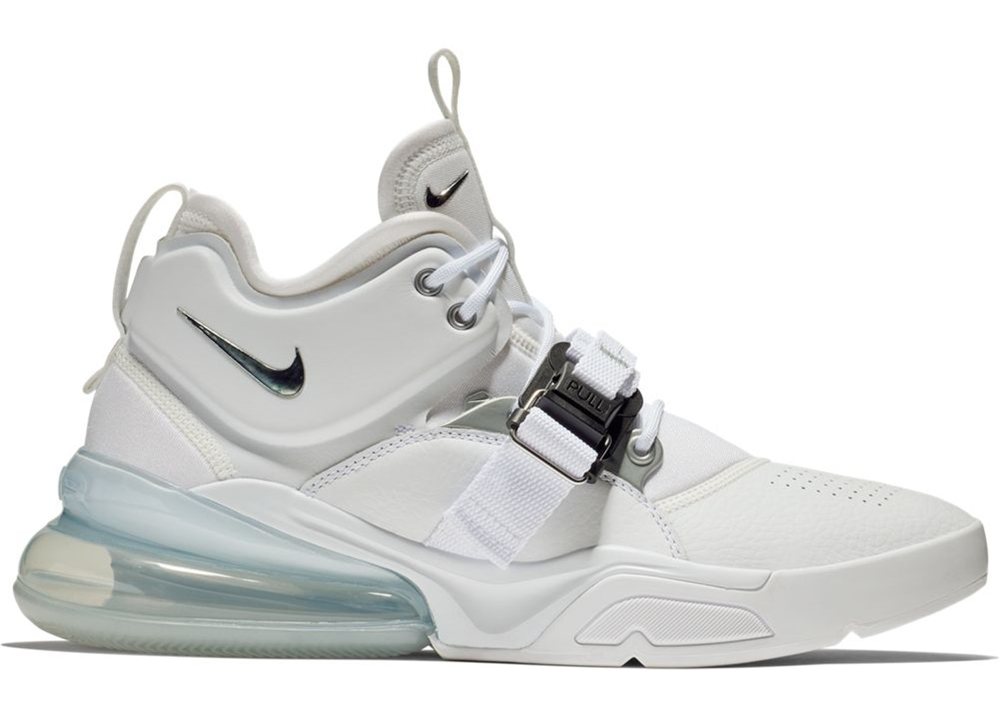 on sale 4f8f3 b7812 Air Force 270 White Metallic Silver