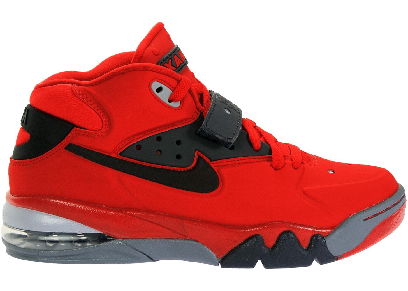 Remo hablar Previamente  Nike Air Force Max 2013 University Red Black - 555105-600
