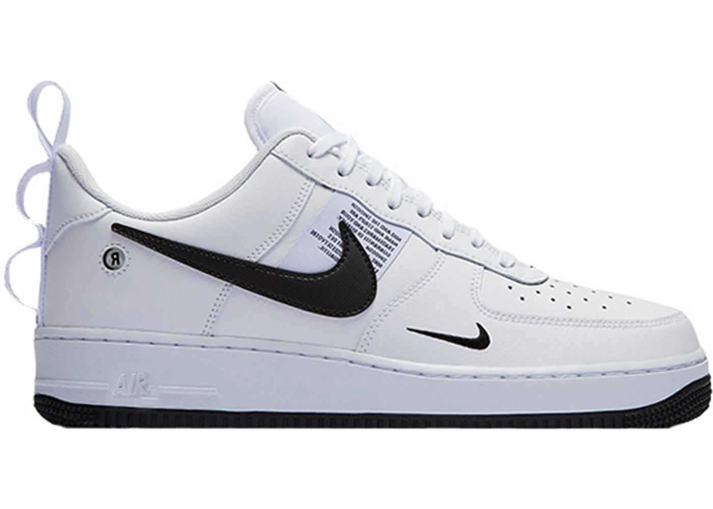 meet beauty incredible prices Air Force One LV8 UL Utility White