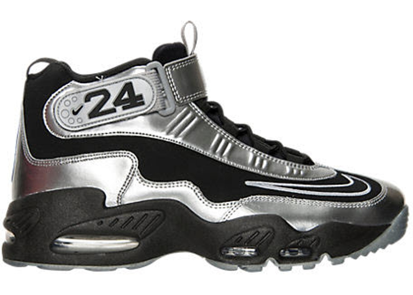 best cheap 04573 f82ea Sell. or Ask. Size  11. View All Bids. Nike Air Griffey Max 1 Metallic  Silver