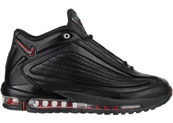 new concept 7c061 68948 Air Griffey Max GD 2 Black Varsity Red (2010) - 395917-007/395917-001