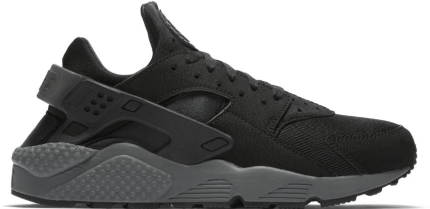 Nike Air Huarache Black Black Grey