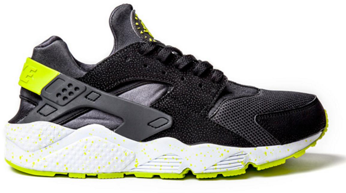 Nike Air Huarache Black Venom Green